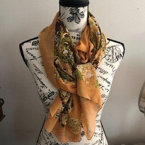 Rectangular fashion scarf